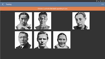 Screenshot of The Szondi Personality Test