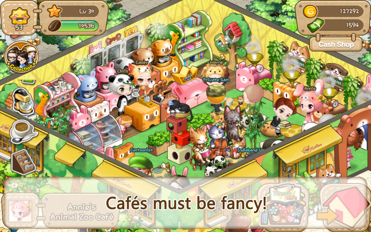 LINE I Love Coffee- screenshot
