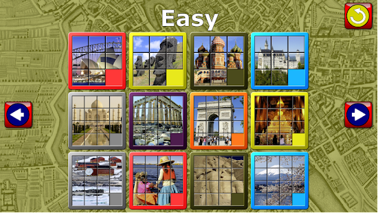 Kids Slide Puzzle World- screenshot thumbnail
