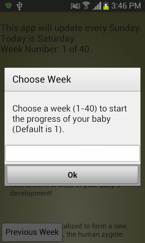 Pregnancy - Week by Week - screenshot