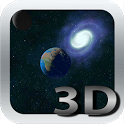 Space 3D HD LWP Free icon