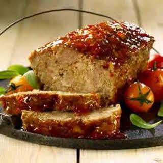 Chili Glazed Meatloaf.