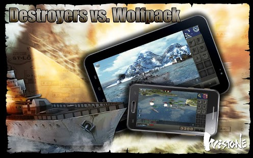 Destroyers vs. Wolfpack - screenshot thumbnail
