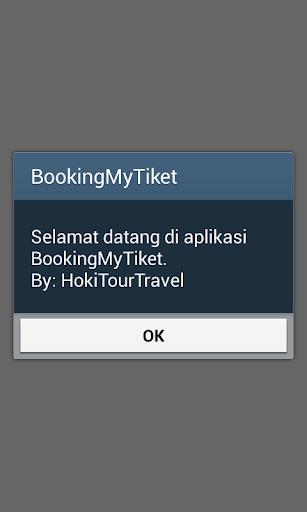Booking My Tiket