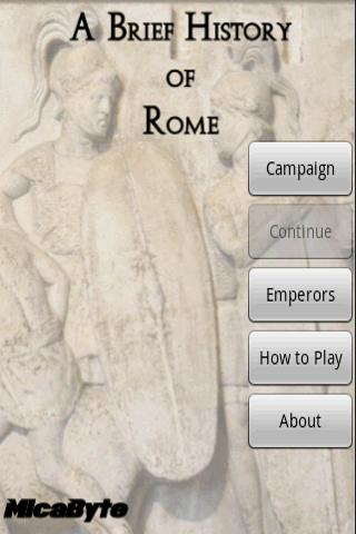 A Brief History of Rome - screenshot
