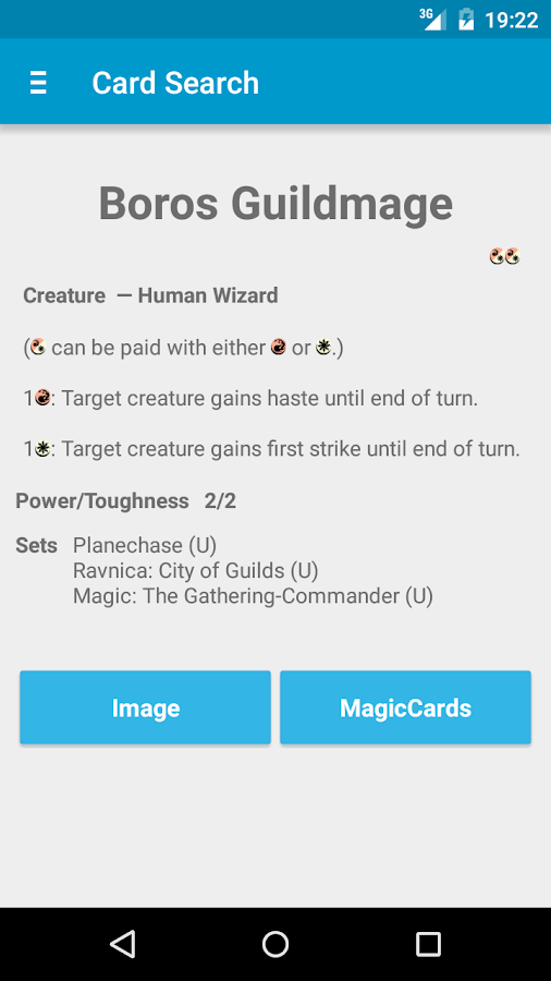 MtG Life Counter & Card Search - screenshot