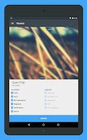 Screenshot of Gem Flat CM12 Theme