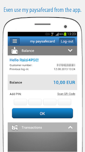 paysafecard – pay cash online- screenshot thumbnail