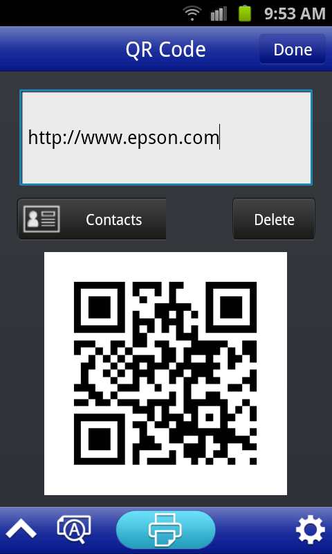 Epson iLabel - screenshot