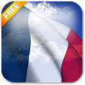 3D France Flag Live Wallpaper icon