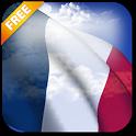 3D France Flag icon