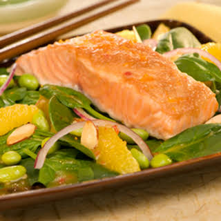 Asian Salmon Salad.