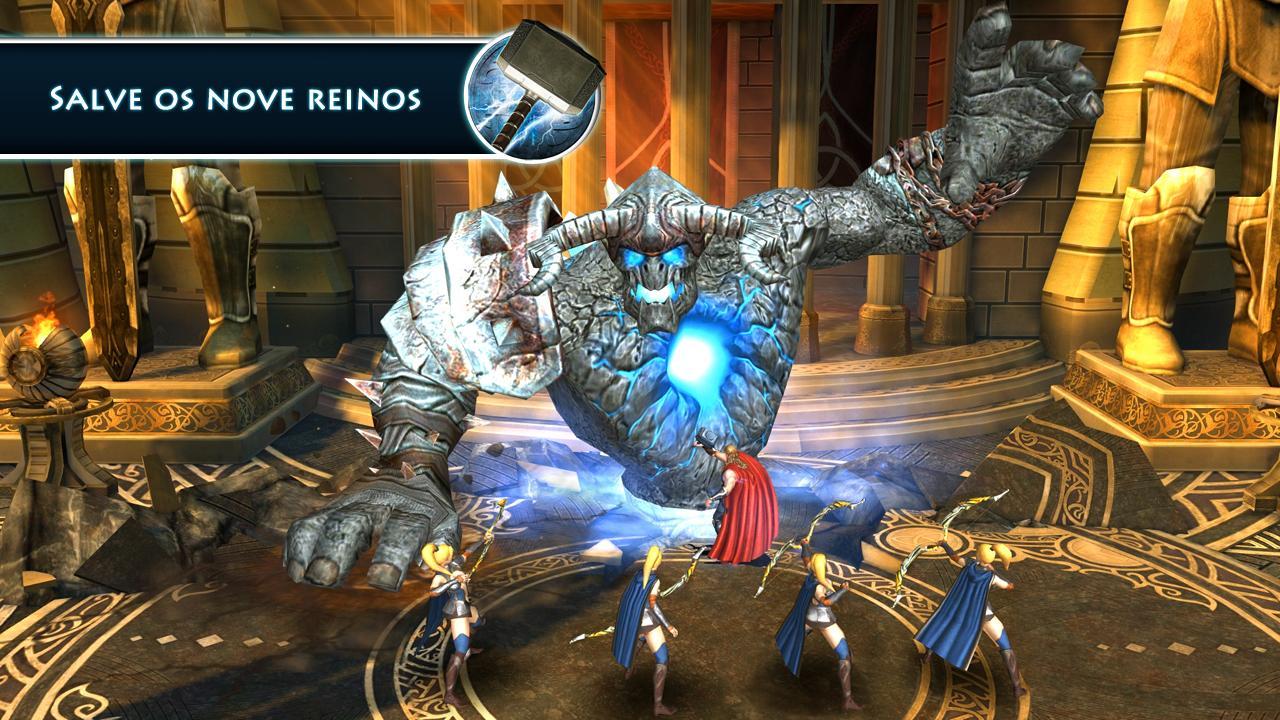 Thor: OMS - Jogo oficial - screenshot