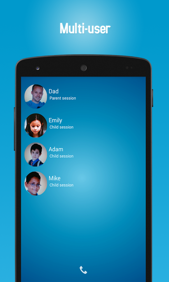 Parentsaround Parental Control - screenshot