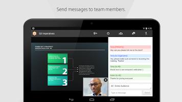 Screenshot of GoToMeeting