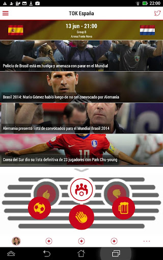 TOK España para el Mundial