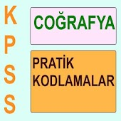 KPSS Cografya Kodlama