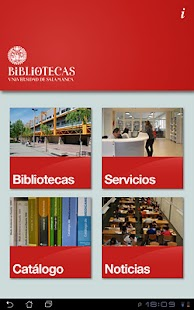 Biblio USAL- screenshot thumbnail