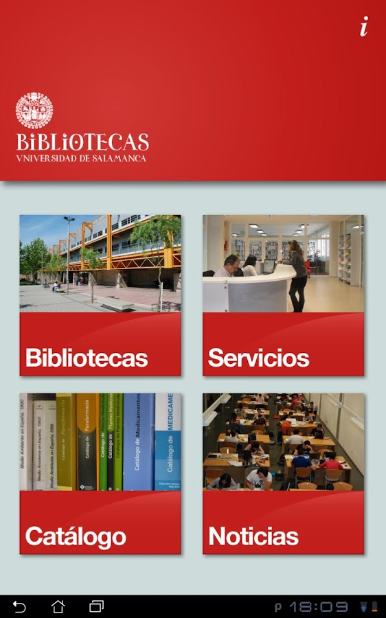 Biblio USAL- screenshot