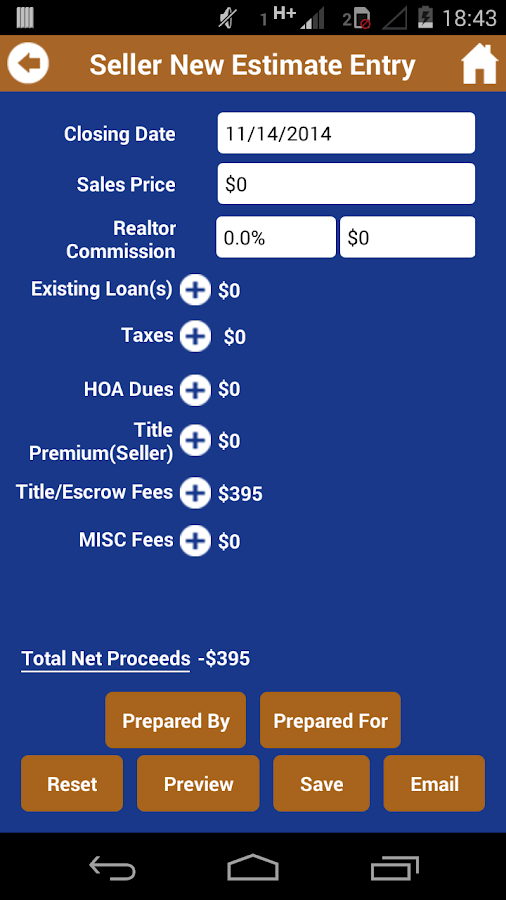 firstAZtitle – Real Estate- screenshot