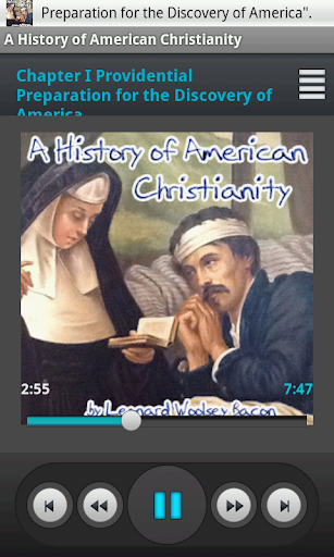History American Christianity
