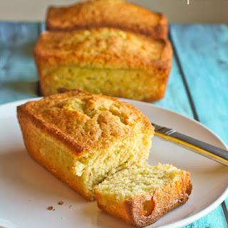 Saffron and Cardamom Olive Oil Pound Cake