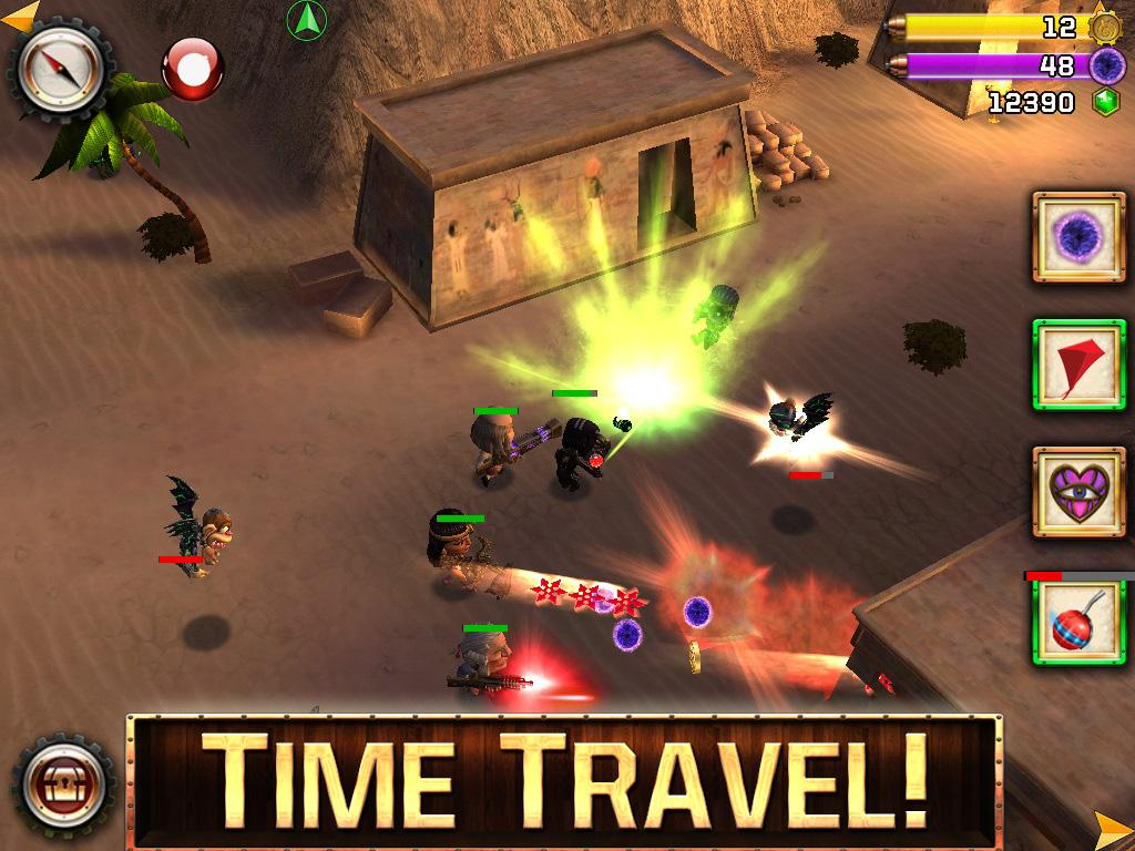 Ninja Time Pirates- screenshot