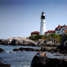 Portland Head Light by Aaron Gould - Buildings & Architecture Public & Historical
