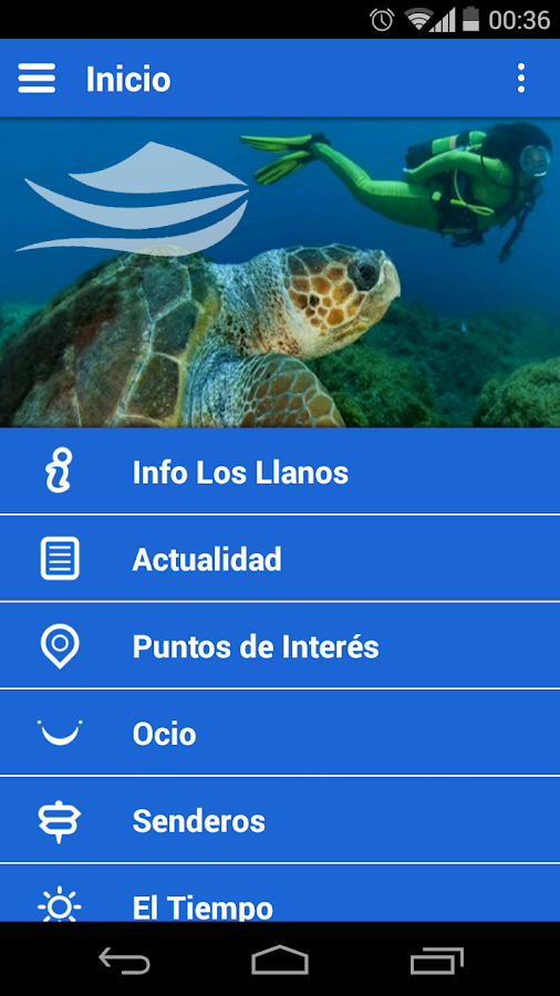 Los Llanos App- screenshot