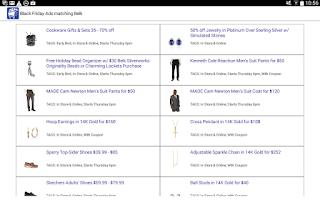Screenshot of Black Friday 2015 - Best Deals