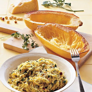 Roasted Spaghetti Squash with Herbs.