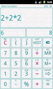 Mobi Calculator PRO- screenshot thumbnail