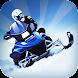 Snowmobile Race 3D Pro