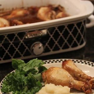 Four Ingredient Crock Pot Orange Chicken