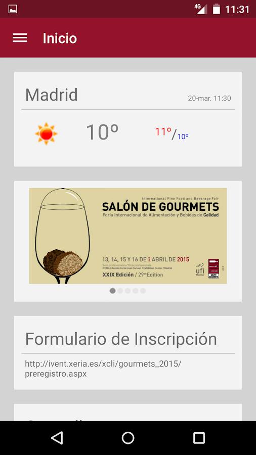 Salón de Gourmets - screenshot