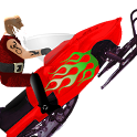 Snowmobile Santa - Racing Game icon