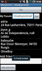FriendsLocator screenshot 7