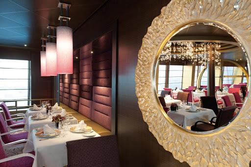 Costa-neoRomantica-Samsara-restaurant - The Samsara restaurant at Costa neoRomantica (reservations and surcharge required).