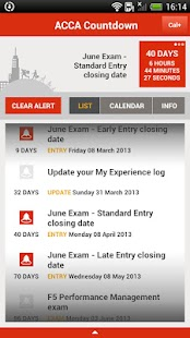 ACCA Student Planner - screenshot thumbnail