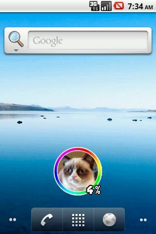 無料个人化Appの猫のバッテリーウィジェット|記事Game