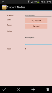 HanDBase Database Manager - screenshot thumbnail