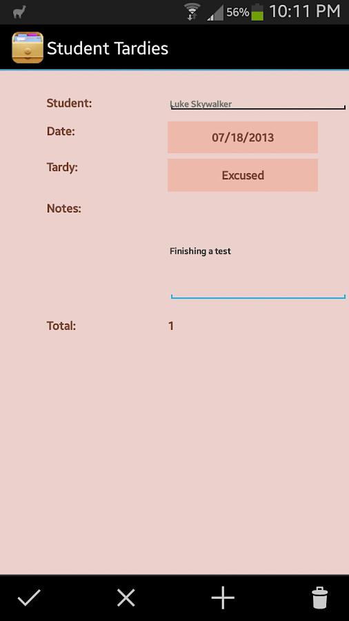 HanDBase Database Manager - screenshot