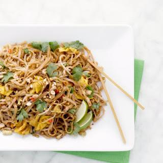 Pad Thai Classic Stir-Fried Noodles.