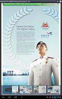Screenshot of Mindef/ SAF & DSTA Scholarship