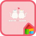 lovely cats dodol theme icon
