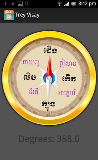 Trey Visay - Khmer Compass