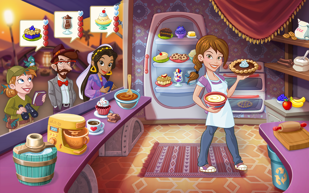 Kitchen Scramble- screenshot