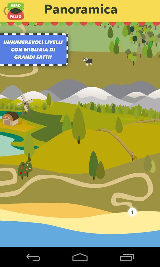 Vero o falso - il gioco- screenshot