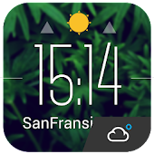 Lock Screen Clock & Weather