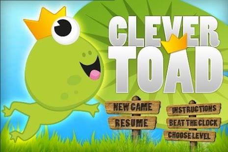 Clever Toad - screenshot thumbnail